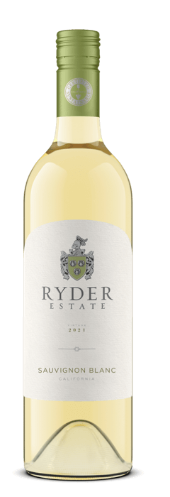 Ryder Estate Sauvignon Blanc wine bottle